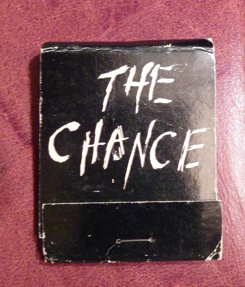 Book Matches - The Chance