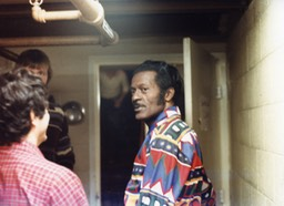Chuck Berry backstage 2