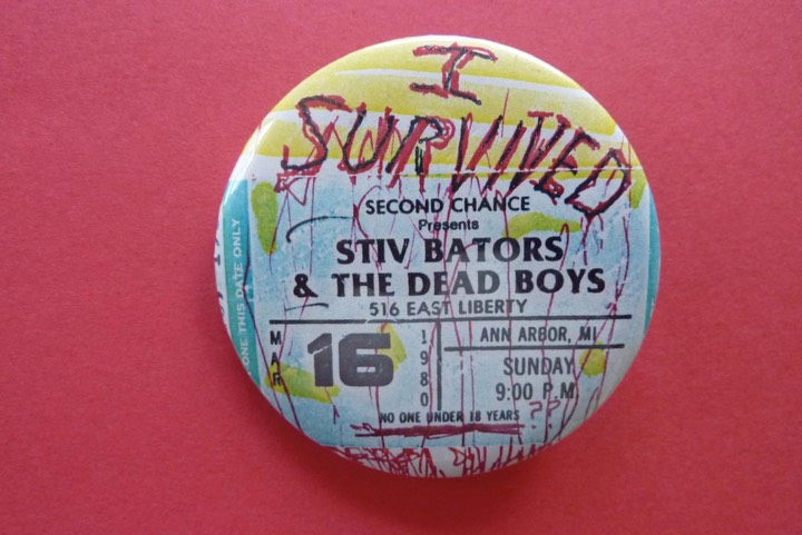 Dead Boys Badge
