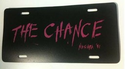 License Plate - The Chance