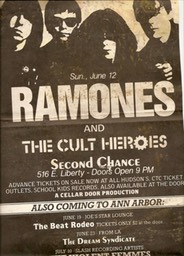 Ramones and Cult Heroes