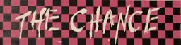 The Chance  checker board bumper sticker